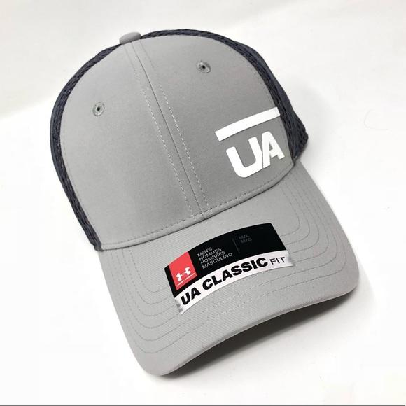 Under Armour UA Classic Fit Men s Cap M L Gray 6d0c13baf25